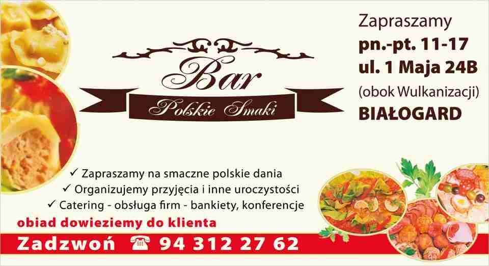 Bar Polskie Smaki Białogard Bar Domowe Jedzenie Konferencje